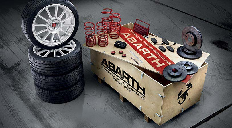 Kit Abarth Esseesse Koni
